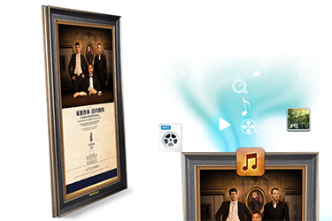 LED-Wall-Mounted-Oil-Painting-Frame-display-digital-Pureimage